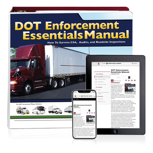 DOT Enforcement Essentials Manual