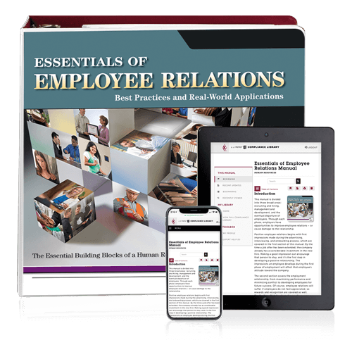Essentials of Employee Relations Manual