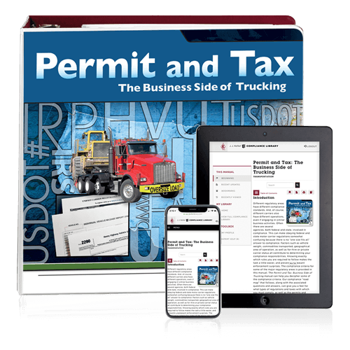 Permit and Tax Manual