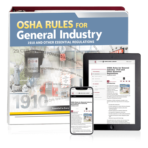 OSHA Rules for General Industry