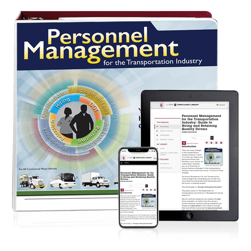 Personnel Management for the Transportation Industry