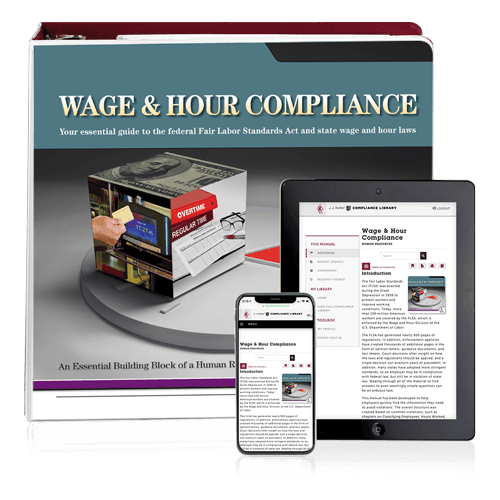 Wage & Hour Compliance with FLSA Manual