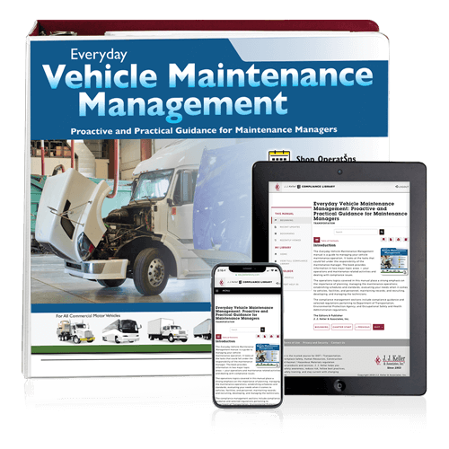 Everyday Vehicle Maintenance Management