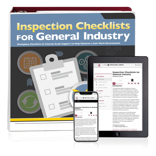 Inspection Checklists for General Industry